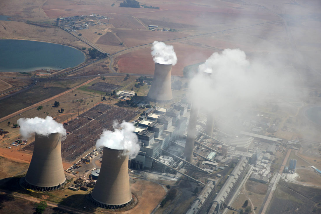 Kriel Power Station. Emissions from Eskom's coal-fired power stations cause significant numbers of respiratory hospital admissions and deaths. Picture: James Oatway for CER.