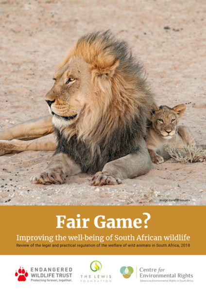 Fair Game? Improving the Well-Being of South African Wildlife